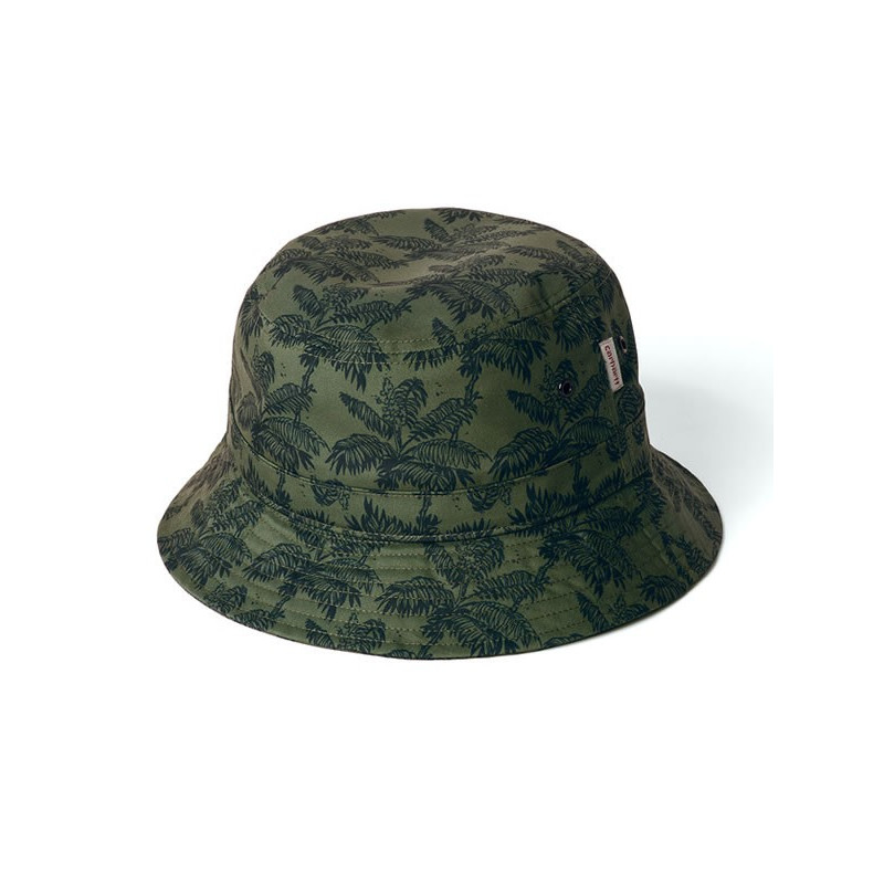 Carhartt bucket hat ghetto Print, Dark Navy / Bog