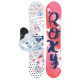 Roxy Snowboard Poppy enfant Pack avec fixation