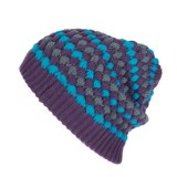 HEY CHICKIE BEANIE LADY SPOT LIGHT PURPLE