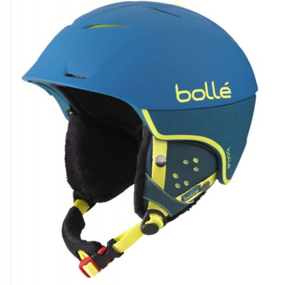 bolle Synergy soft blue Casque de ski Adulte