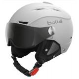 bolle BACKLINE VISOR SOFT wHite  & Silver Lens sivler Mirror + lemon visor