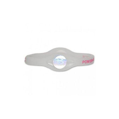 Bracelet Silicone Transparent Lettre Pink Avec Hologramme