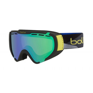 BOLLE explorer matte black camo green emerald