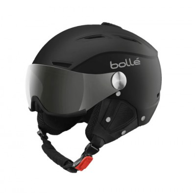 BOLLE backline visor soft black & silver with 1 siler gun visor + 1 lemon visor