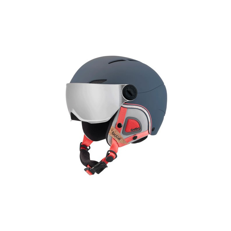 BOLLE juliet visor navy rose with 1 silver gun + 1 lemon visor