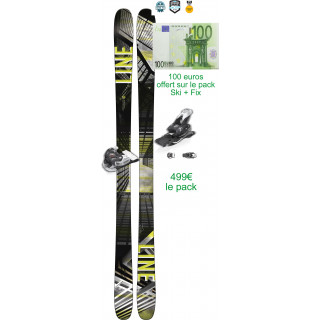 Line Skis Tom Wallish Pro 2018 avec fixation attack 13