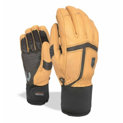 LEVEL Gants Off Piste Leather Beige