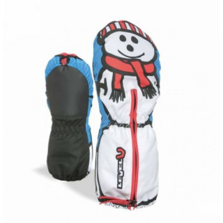 LEVEL MOUFLES BEBE TODDLER MITT PK WHITE