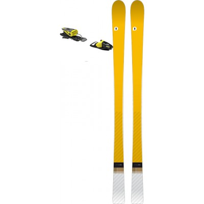 Dark Doctor Pack Ski FT8 2019 avec Fixations NX 11