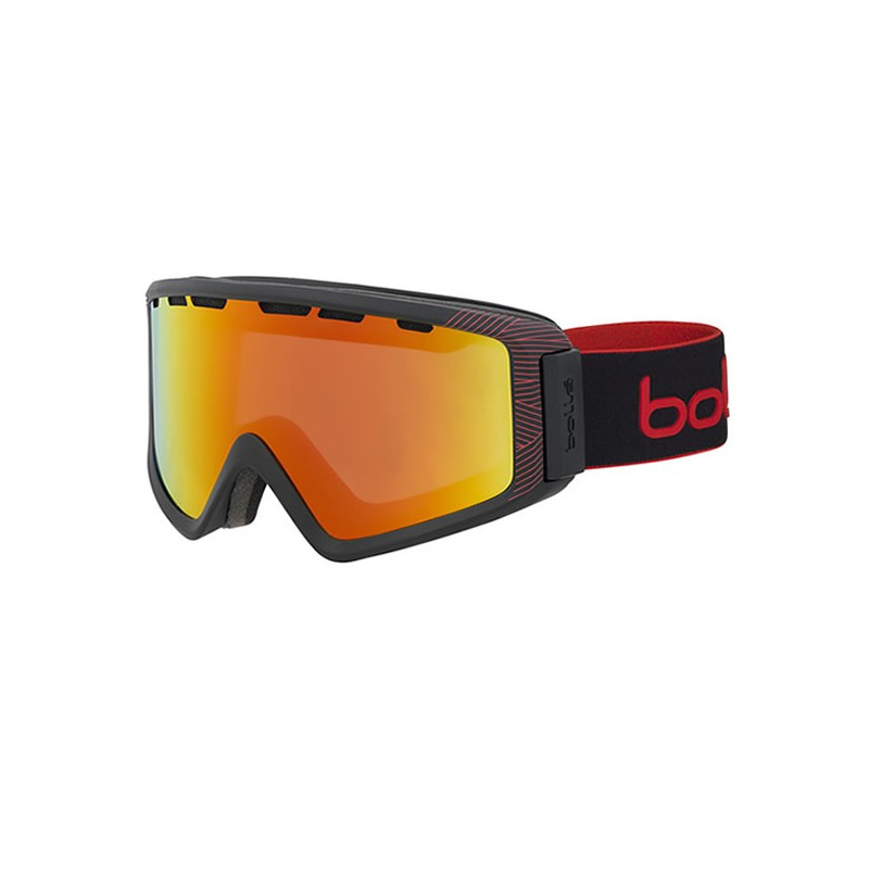 BOLLE MASQUE Z5 Otg Matte Black & Red Natura Sunrise