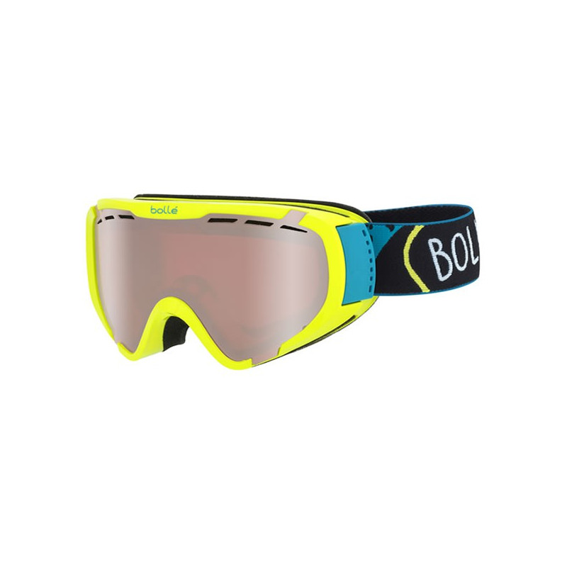 BOLLE MASQUE Explorer Shiny Lime Shout Vermillon Gun