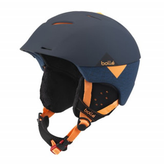 BOLLE CASQUE synergy soft navy & orange