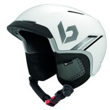 BOLLE CASQUE motive matte white silver