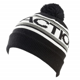 FACTION logo pom pom beanie