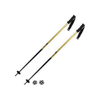 Faction Batons de ski candide Aluminium 7075 Black Gold