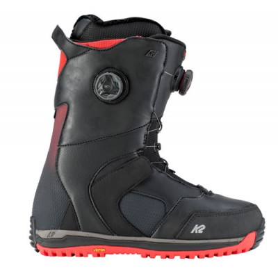 K2 Thraxis Black Boots de snowboard  Triple Boa