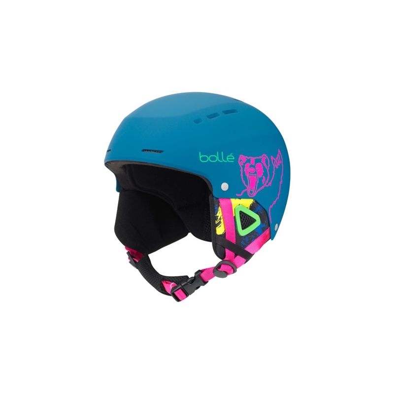 BOLLE CASQUE quiz matte navy bear
