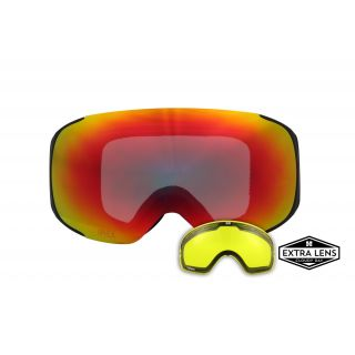 APHEX MASQUE kepler matt black revo red