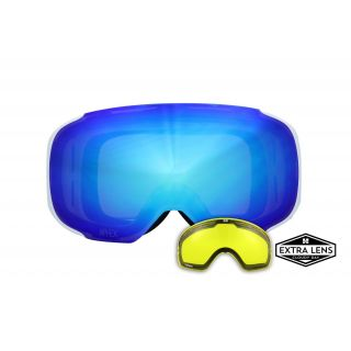 APHEX MASQUE kepler white revo blue
