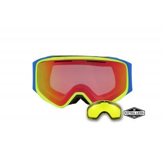 APHEX MASQUE vortex yellow / blue  revo red
