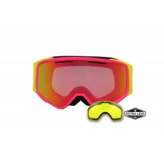 APHEX MASQUE vortex pink / yellow revo red