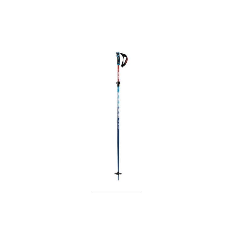 K2 Bâtons freeride flip jaw 135 red - white - blue