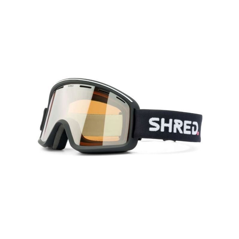 SHRED monocle black - silver MASQUE
