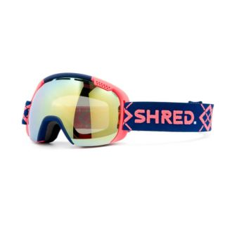 SHRED smartefy bigshow navy/rust - cbl hero mirror MASQUE
