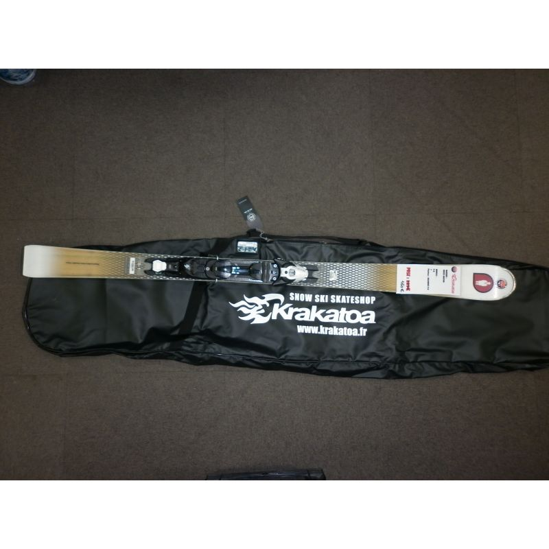 White Doctor F18 Skis d'occasion + Fixations Salomon Z10