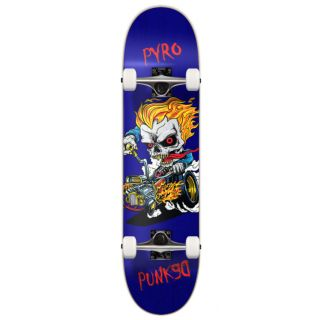 YOCAHER Graphic hot rod pyro skateboard