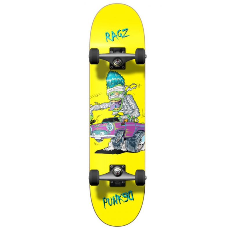 YOCAHER Graphic Hot rod slim skateboard