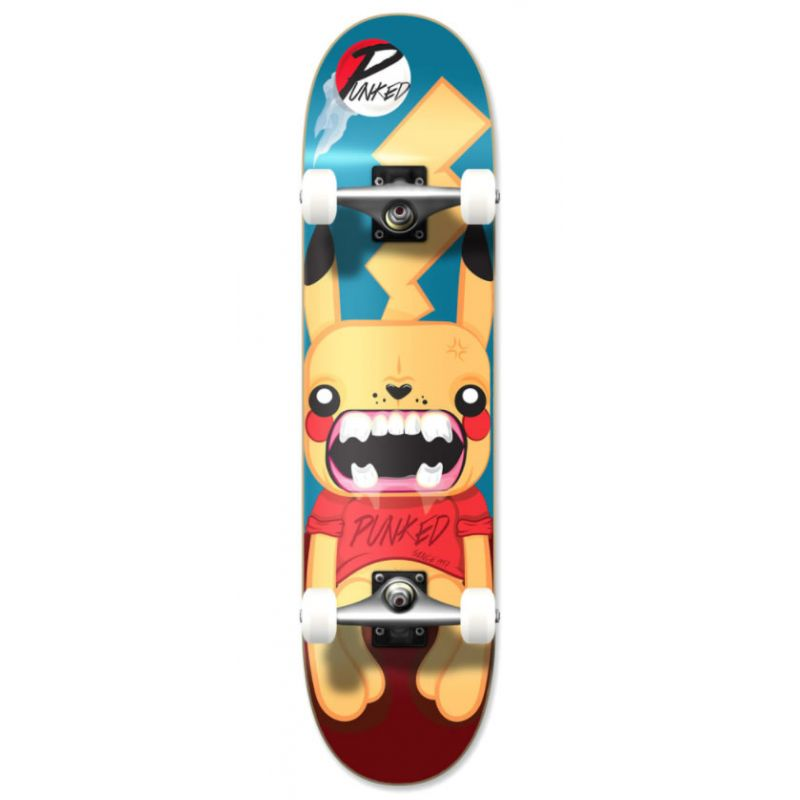YOCAHER Graphic pika skateboard