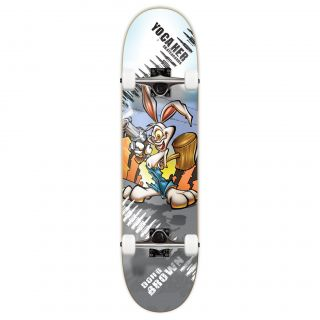 YOCAHER graphic radical rabbit complete skateboard