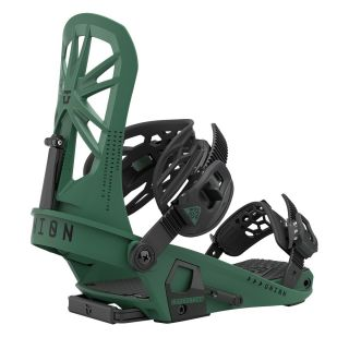 UNION bindings expedition forest green fixations