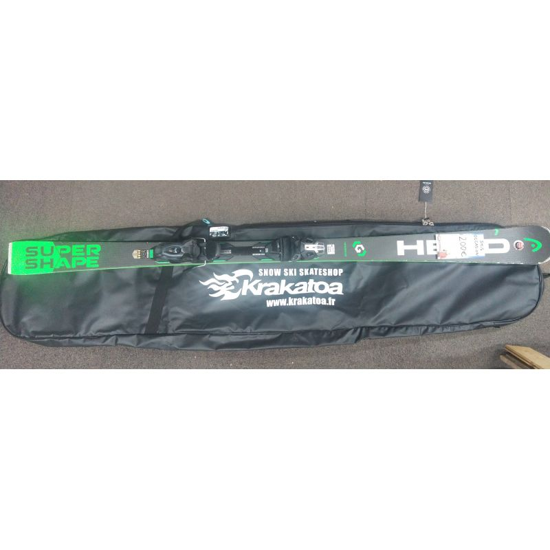 Head Skis occasion +Fixations 170 cm