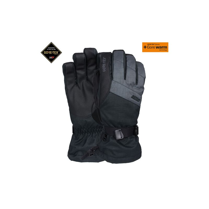 Pow warner gtx long glove +warm charcoal