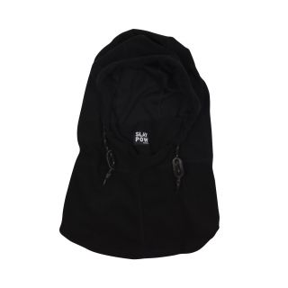 POW mens microfleece hood true black TAILLE UNIQUE
