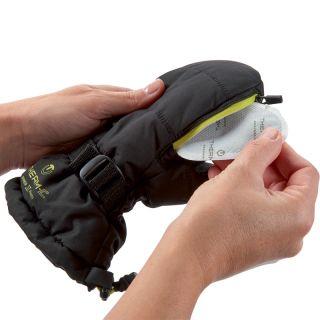 Therm-ic warm gloves lime junior Moufles Enfant avec chaufferettes