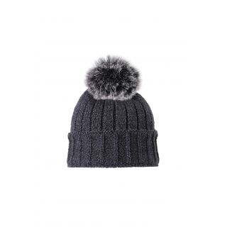 LHOTSE narya bonnet pompon adulte anthracite