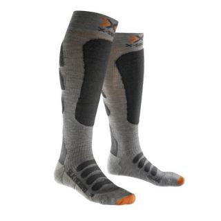 X-SOCKS CHAUSSETTES ski silk merino gr/Ant