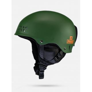 K2 Phase pro forest green Casque