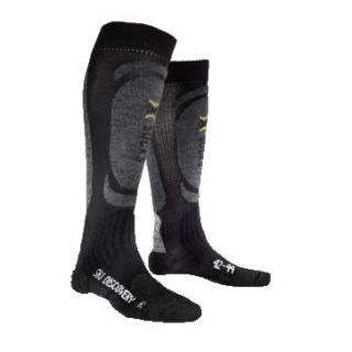 X-SOCKS CHAUSSETTES SKI DISCOVERY NOIR