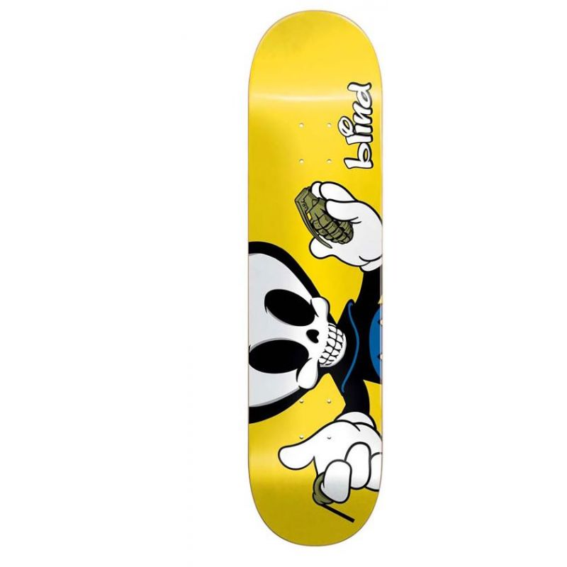 BLIND DECK REAPER CHARACTER R7 MICKY PAPA 8.0 X 31.7