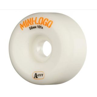 MINI LOGO WHEELS (JEU DE 4) A-CUT 101A WHITE