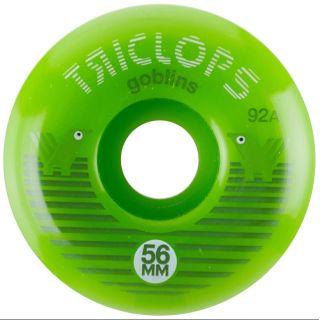 Darkroom WHEELS  56mm (JEU DE 4 ) TRICLOPS GOBLIN 92A GREEN
