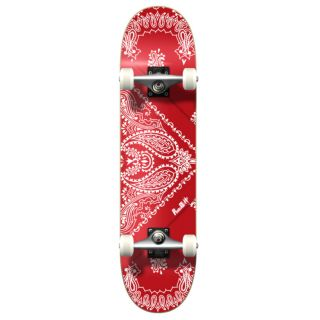 YOCAHER Graphic Bandana Red Skate Board