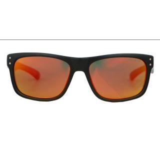 Aphex Cosmos / Sunglasses matt black frame revo red lens