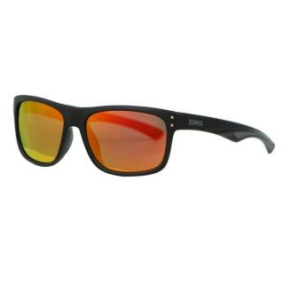 Aphex Cosmos / Sunglasses matt black frame revo red lens