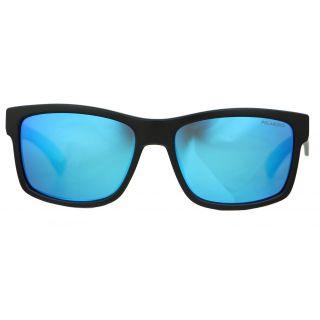Aphex Orbit / Sunglasses matt black frame revo blue