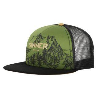 Sinner SNAPBACK / CAP MOUNTAINS / MOSS GREEN